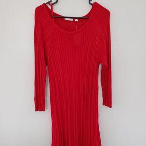 Est. 1946 Red Plus Size Sweater Dress NWT 14/16W
